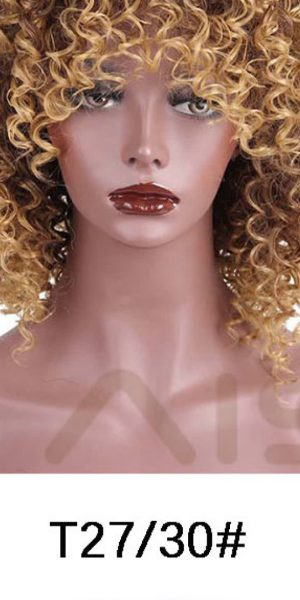 Reddish Blonde synthetic Wig