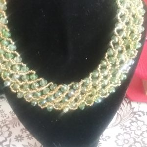 Pretty Pearls – Necklace handmade with African beads