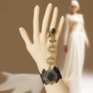 Handmade Lace Bracelet and Ring combo