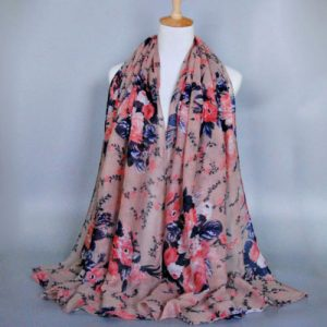 Cotton/Linen Soft Silky Scarf
