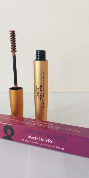 BROWN MASKHAIRRA – Temporary, portable Hair Dye in a tube.