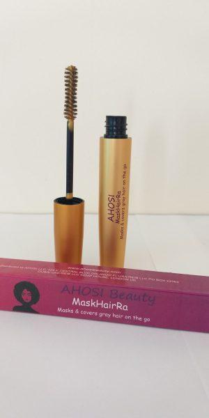 BLONDE MASKHAIRA Red. Portable. Temporary HAIR DYE/HAIR COLOR