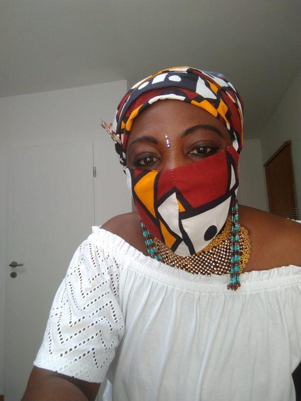 Head-Wrap + Face Mask