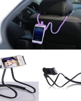 Mobile Phone Holder Hanging Neck Lazy Cellphone Mount Accessories Adjustable 360 Degree Phones Holder Stand. Universal. BLACK